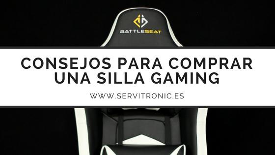 consejos para comprar una silla gaming