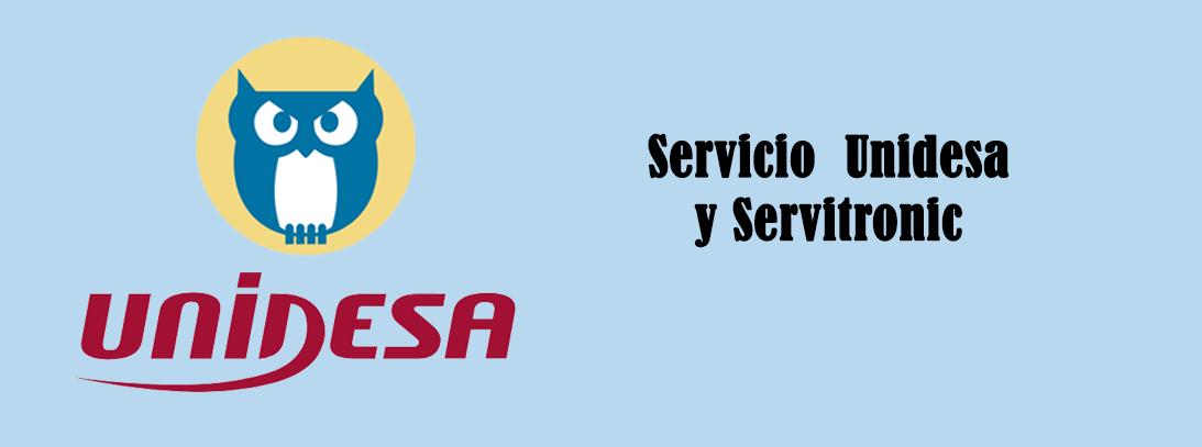 Servicio técnico oficial de Unidesa