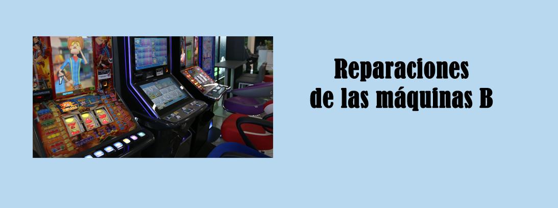 reparaciones de las máquinas B