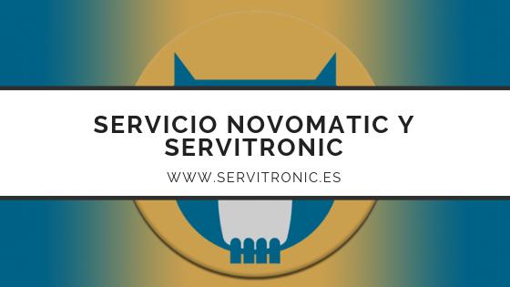 Servicio Novomatic y Servitronic