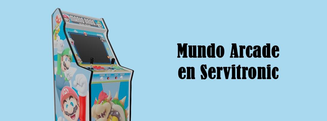 mundo arcade en servitronic